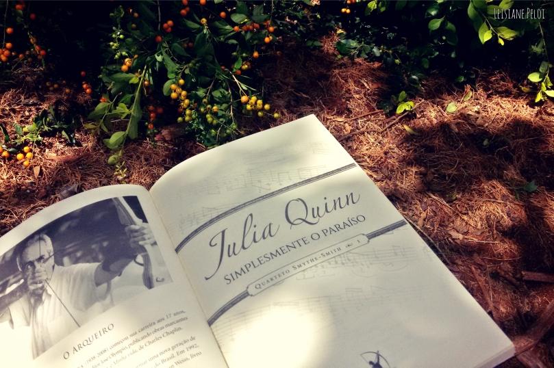 simplesmente o paraiso - julia quinn capa 2